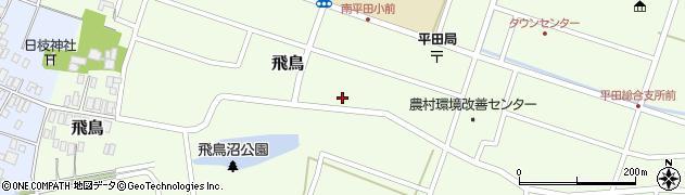 山形県酒田市飛鳥205周辺の地図