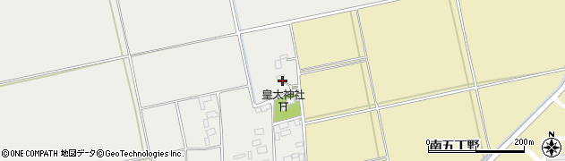山形県酒田市遊摺部乙周辺の地図
