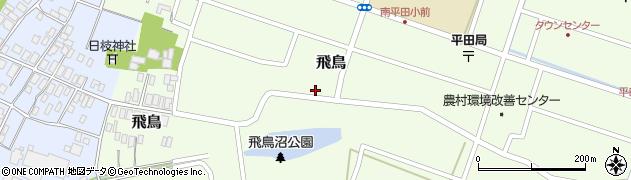 山形県酒田市飛鳥176周辺の地図
