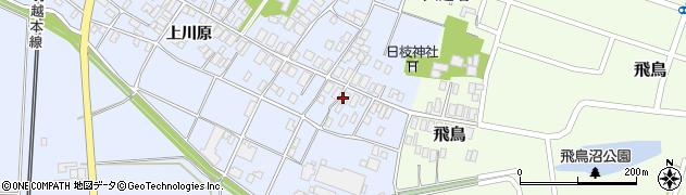 山形県酒田市砂越上川原6周辺の地図