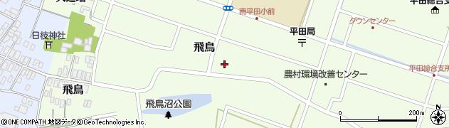 山形県酒田市飛鳥大道端197周辺の地図