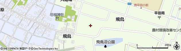 山形県酒田市飛鳥68周辺の地図