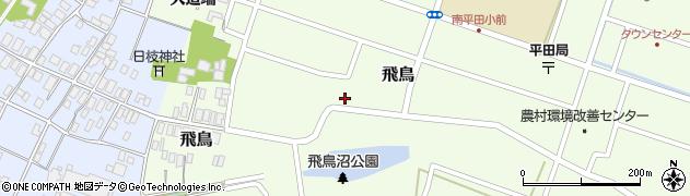 山形県酒田市飛鳥170周辺の地図