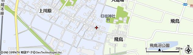山形県酒田市砂越楯之内5周辺の地図