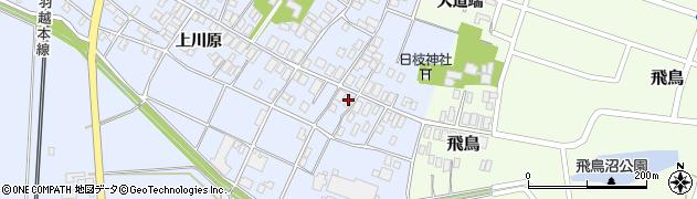 山形県酒田市砂越上川原7周辺の地図