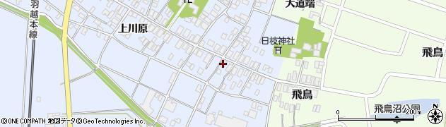 山形県酒田市砂越上川原8周辺の地図
