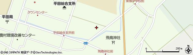 山形県酒田市飛鳥堂之後70周辺の地図