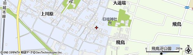 山形県酒田市砂越楯之内6周辺の地図