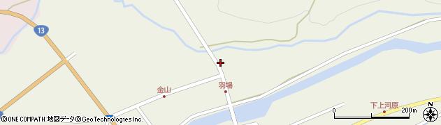 山形県最上郡金山町金山967周辺の地図