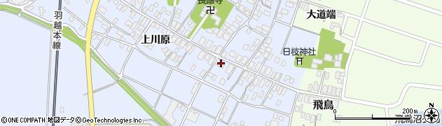 山形県酒田市砂越上川原12周辺の地図