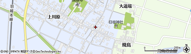 山形県酒田市砂越楯之内9周辺の地図