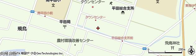 山形県酒田市飛鳥契約場43周辺の地図