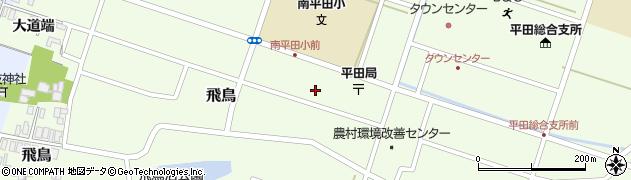 山形県酒田市飛鳥大道端85周辺の地図