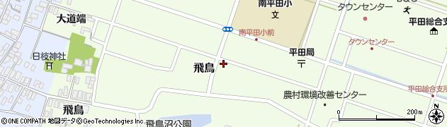 山形県酒田市飛鳥大道端132周辺の地図