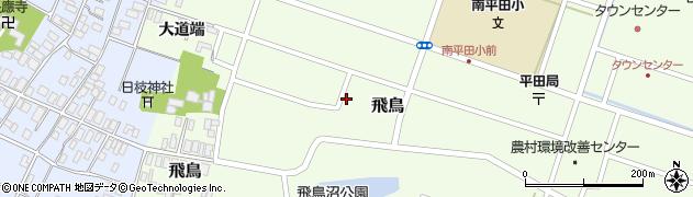 山形県酒田市飛鳥156周辺の地図