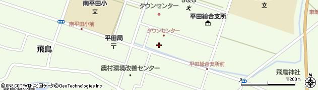 山形県酒田市飛鳥契約場44周辺の地図