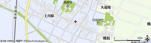 山形県酒田市砂越楯之内119周辺の地図