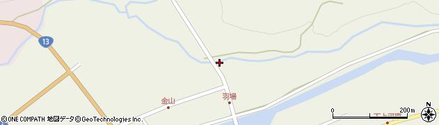 山形県最上郡金山町金山2143周辺の地図