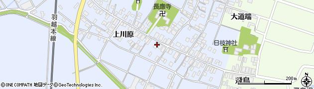 山形県酒田市砂越上川原16周辺の地図