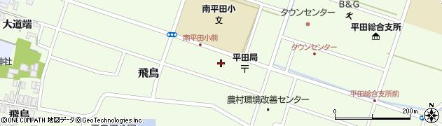 山形県酒田市飛鳥大道端86周辺の地図