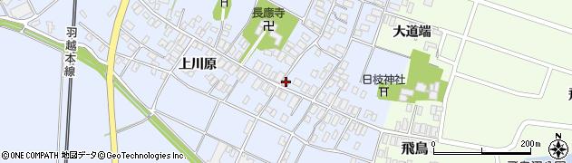 山形県酒田市砂越楯之内122周辺の地図