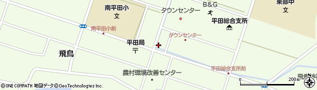 山形県酒田市飛鳥契約場46周辺の地図