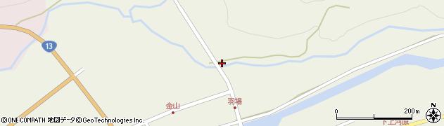 山形県最上郡金山町金山843周辺の地図