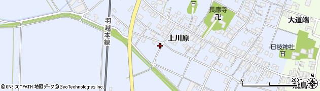 山形県酒田市砂越上川原560周辺の地図