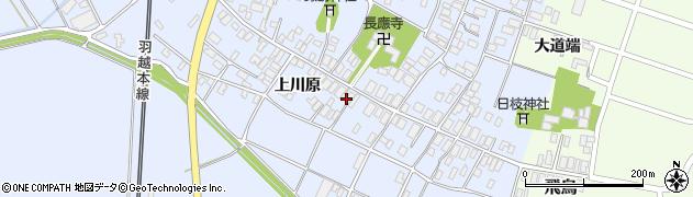山形県酒田市砂越上川原20周辺の地図