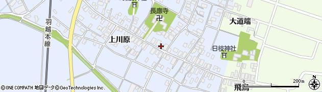 山形県酒田市砂越楯之内124周辺の地図