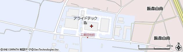 山形県酒田市十里塚村東山398周辺の地図