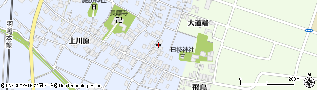 山形県酒田市砂越楯之内11周辺の地図