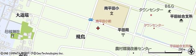 山形県酒田市飛鳥大道端98周辺の地図