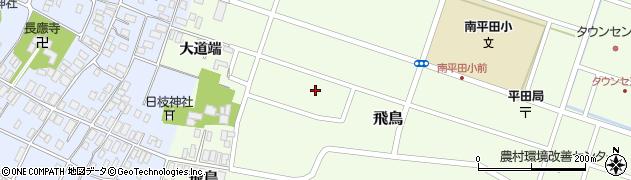 山形県酒田市飛鳥大道端182-3周辺の地図
