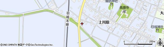 山形県酒田市砂越上川原551周辺の地図