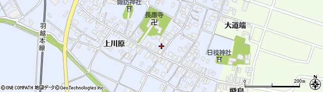 山形県酒田市砂越楯之内123周辺の地図