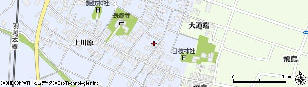 山形県酒田市砂越楯之内114周辺の地図