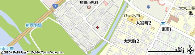 山形県酒田市あきほ町661周辺の地図
