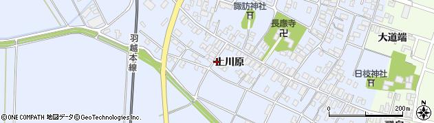 山形県酒田市砂越上川原75周辺の地図