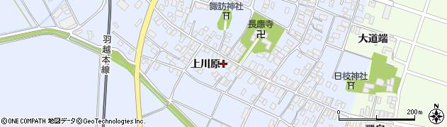 山形県酒田市砂越上川原24周辺の地図
