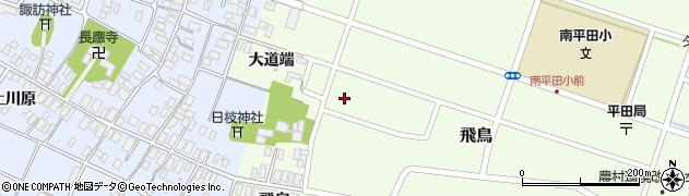 山形県酒田市飛鳥大道端周辺の地図