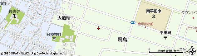 山形県酒田市飛鳥大道端182周辺の地図
