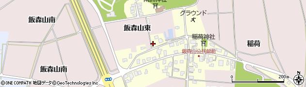 山形県酒田市宮野浦飯森山東40周辺の地図