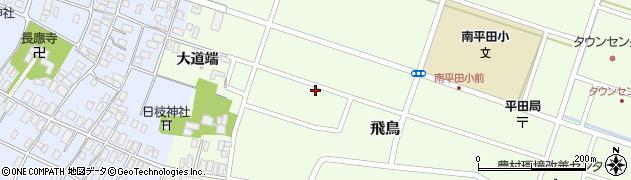 山形県酒田市飛鳥大道端182-1周辺の地図