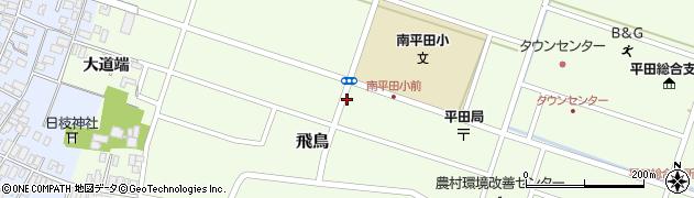 山形県酒田市飛鳥大道端103周辺の地図