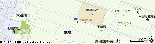 山形県酒田市飛鳥大道端101周辺の地図
