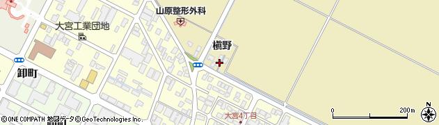 山形県酒田市大宮槇野133周辺の地図