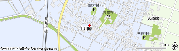 山形県酒田市砂越上川原67周辺の地図