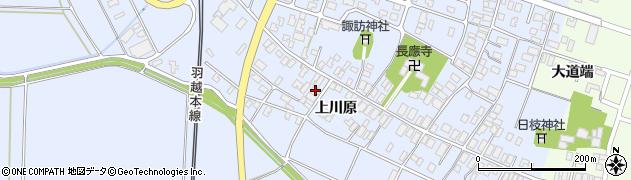 山形県酒田市砂越上川原77周辺の地図
