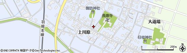 山形県酒田市砂越楯之内221周辺の地図